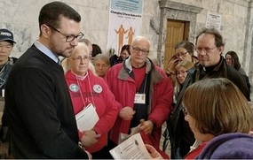 NW Catholic Magazine features St. Stephen parishioners praying, marching, and meeting for Life January 22, 2018